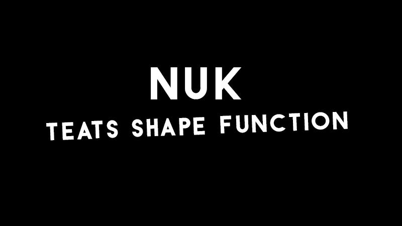 nuk-teats-shape-function